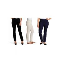 NEW!! Gloria Vanderbilt Women's Zoey Pull On Pants Variety #121