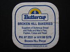 BROKEN HILL BAKERIES BUTTERCUP MAC'S PIES 872531 COASTER