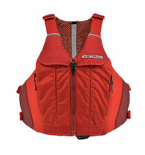 """Astral Designs LINDA Sculpted Life Vest PFD for Women, L/XL 45-51"""" chest - Red"""