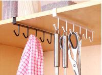 Universal Kitchen Bathrooms Rack Cupboard Hanging Hook Hanger Storage Holder