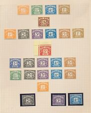 Great Britian - Lot Of Mint - Postage Due - Scarce Lot Of 32