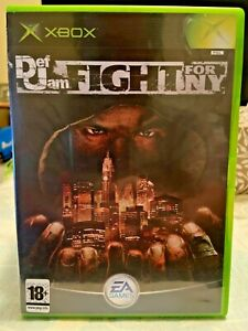 Def Jam Fight For NY Original Xbox Game PAL - COMPLETE.
