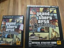 GTA San Andreas PS2 Game With Strategy Guide