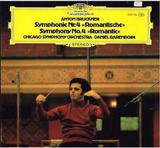 Bruckner: Sinfonia N.4 Romantica / Daniel Barenboim, Chicago Symphony - LP DGG