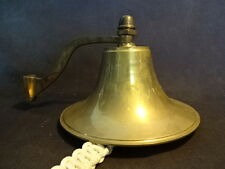 Collectible Wall School Dinner Brass Ringing Bell