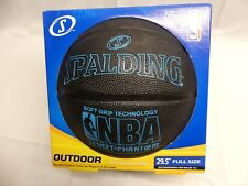 "Spalding Basketball Street Phantom Black/Blue Men's 29.5"" Full Size NBA"