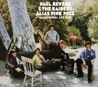 Paul Revere & the Raiders - Alias Pink Puzz [New CD] Bonus Tracks