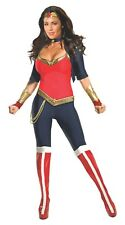 Justice League Sexy Wonder Woman Halloween Cosplay Costume Adult 0-2 XS #7254
