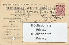 2914) Premiata Pasticceria Senno Vittorio - Lavagna 1916