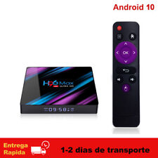 Android 10 H96MAX TV Box RK3318 2.4G/5G Wifi BT 4K Media Player H96 MAX TV Caja