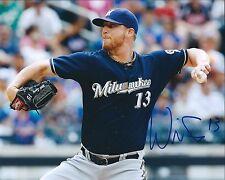 Signed 8x10 WILL SMITH  Milwaukee Brewers photo- COA