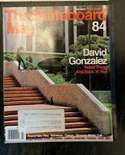 The Skateboard Mag Issue 84 March 2011 Evan Smith David Gonzalez Jose Rojo