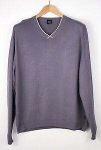 HUGO BOSS Men Cordt Casual Jumper Sweater Size XL AMZ175