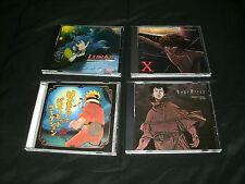 Lunar: SSH, X, Naruto And Ergo Proxy Four Disc Anime Soundtrack Lot