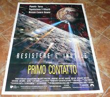 MANIFESTO I^ EDIZIONE ITALIANA STAR TREK : PRIMO CONTATTO - RESISTERE E' INUTILE