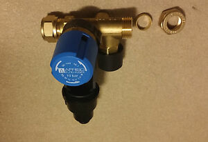 Boiler-Speicher Sicherheitsgruppe bis 200 Liter Boiler 10 bar