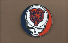 NEW 4 INCH CHICAGO BEARS GREATFUL DEAD IRON ON PATCH FREE SHIPPING