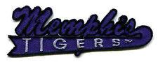 "MEMPHIS TIGERS NCAA COLLEGE 4"" SCRIPT TEXT LOGO PATCH"