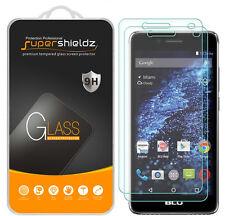 2X Supershieldz BLU Studio Selfie 2 Tempered Glass Screen Protector Saver