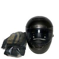 SHOEI Snell Motorcycle Helmet Solid Matte Black -Medium Dot Snell Full Face