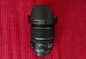 CANON EF-S 15-85mm f3.5-5.6 IS USM Zoom Camera Lens