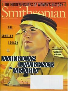 Smithsonian Magazines - March 2019 - Lawrence of Arabia Queen of Sheba Cover