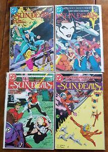 12 ISSUE COMIC LOT SUNDEVILS #1-12 DC COMICS COMPLETE SERIES