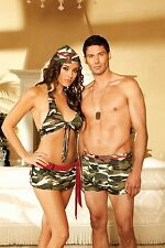 Elegant Moments Tempting Troops Couple's Costume - Two Costumes Included!!