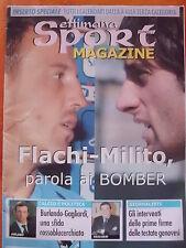 DERBY GENOA SAMPDORIA FLACHI MILITO NUMERO SPECIALE 2004 CALENDARIO A-B-C-D-