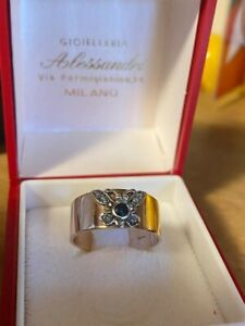 Anello Eternity a griffe in Oro Rosa 18k con Zaffiri Rosa  FEDI-302RZ//ROS