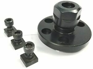 """ER20 Collet Adaptor & T-nuts for 3""""/ 4"""" Rotary Tables Lathe Machine Tools"""