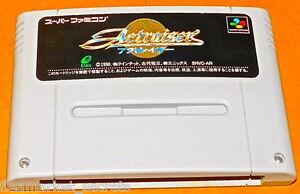 Actraiser SUPER NES NINTENDO SNES Famicom SYSTEM GAME Japan ENIX NINTENDO