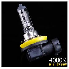 Ampoule Lampe Halogene Feu Phare XENON GAZ Blanc White H11 55W 4000K 12V - 1PC