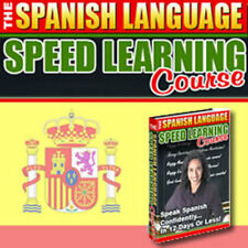 Learn Spanish Fast!!! The Spanish Learning Speed Course- Learn In 12 Days