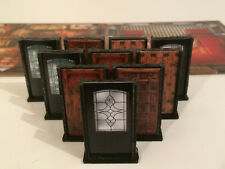 Mansions of Madness set of 10 Doors - Tabletop RPG Scenery - Second edition Game