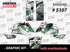 *NEW* RACING ATV QUAD BANSHEE COMPLETE GRAPHICS KIT STICKERS 350 5107