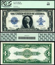 1923 $1 Silver Certificate FR-237 Fancy Low serial Number 44 Forty Four PCGS