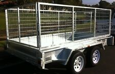 NEW 8X5 DUAL AXLE HEAVY DUTY CAGED TRAILER... 2000KG RATED OPTIONS AVAILABLE