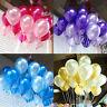 100pcs 10 inch Balloon Colorful Pearl Latex Celebration Birthday Party Wedding Y