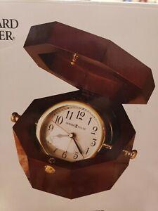 """New Howard Miller 645-187  Chronometer Mantle/Shelf Clock  Cherry  3-3/4"""" Tall"""