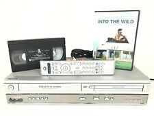 Philips DVD VCR Combo Player DVP620VR Progress HiFi 4-Head VHS Recorder & Remote