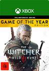 [VPN Aktiv] The Witcher 3 Wild Hunt GOTY Edition - Xbox Series One Code Card