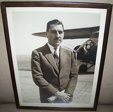 1961 Vintage Test Pilot Dean Cullen Smith Photo Byrd Antartic Expedition Signed