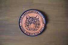Embroided Woven Badge (Save Sumatran Tiger) 90mm in diameter