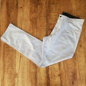 Nike Flex Mens Slim Fit 5-Pocket Dri-Fit Golf Pants Plati Grey  891924-042