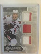 2014-15 Ultimate Jonathan Toews /99 Jersey Rare Materials Upper Deck 14/15