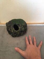 Medium Sized Reptile Hide, Dark Green - Used. Read Description