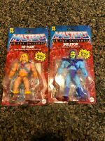 Masters of the Universe He man & Skeletor Retro Action Figures 2020 ⚡FAST SHIP⚡