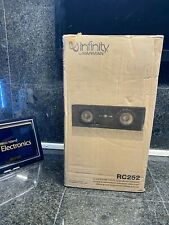 INFINITY REFERENCE RC252 2-WAY CENTER SPEAKER (BLACK)