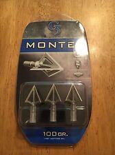 Montec G5 Broadheads  100 Grain